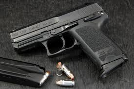 Compact .357 SIG with ammunition